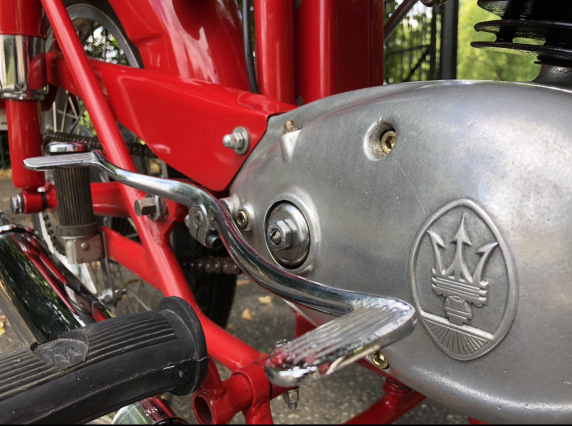 1955 Maserati 125 TV classic motorcycle For Sale (picture 2 of 6)