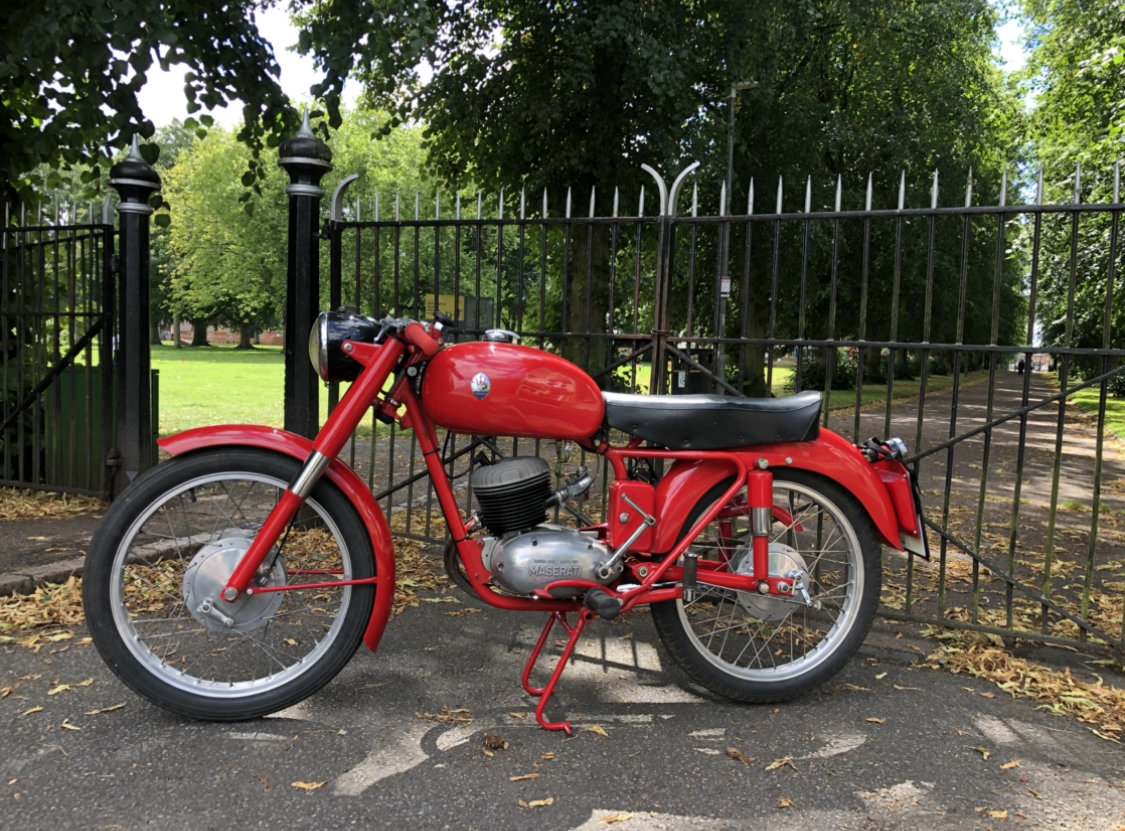 1955 Maserati 125 TV classic motorcycle For Sale (picture 6 of 6)
