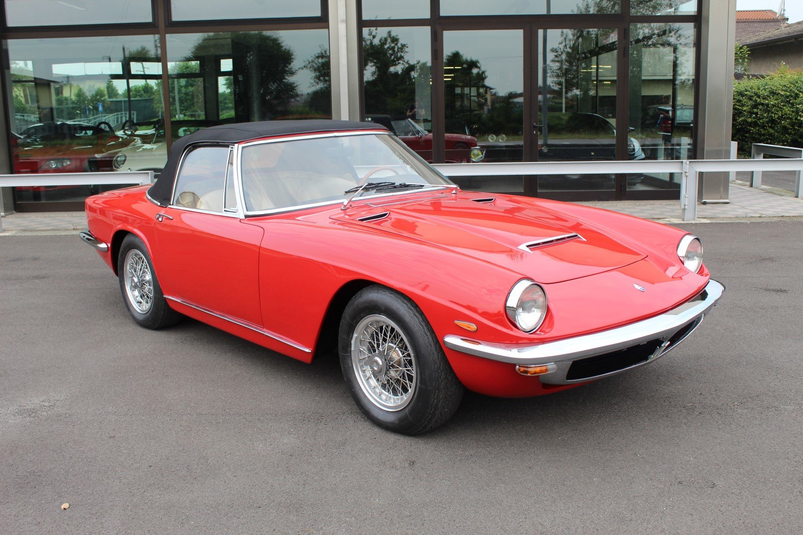 1965 Maserati Mistral 3.7 Spyder For Sale (picture 1 of 6)