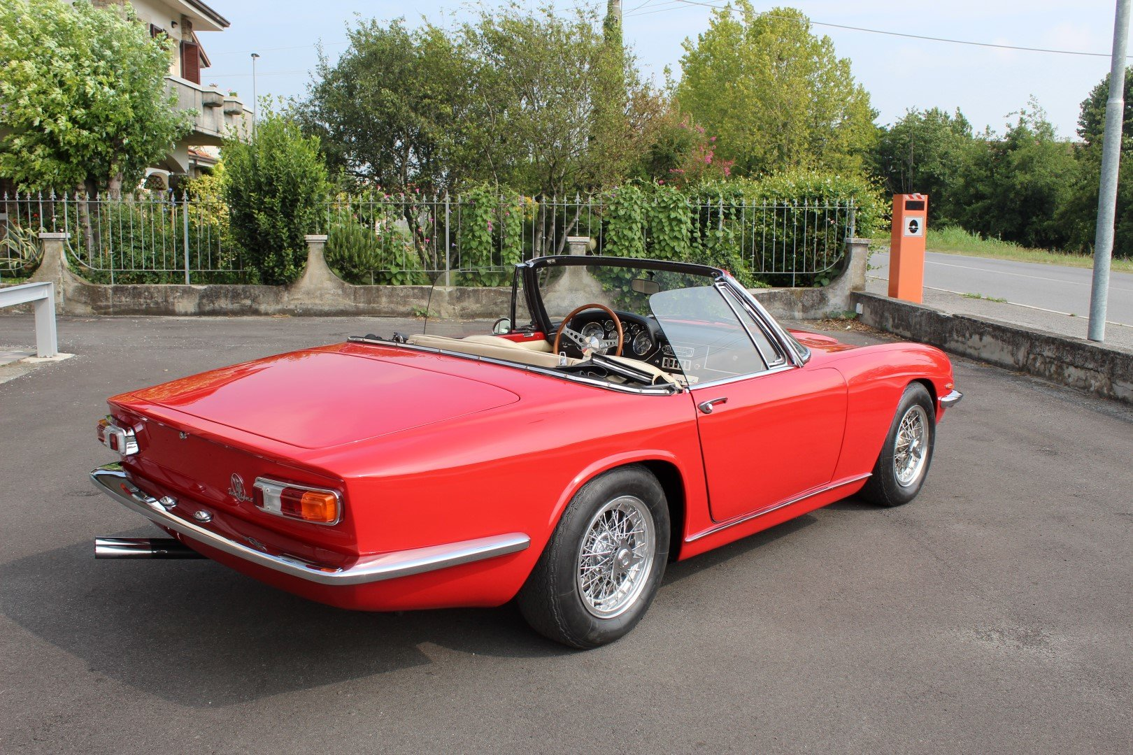 1965 Maserati Mistral 3.7 Spyder For Sale (picture 2 of 6)
