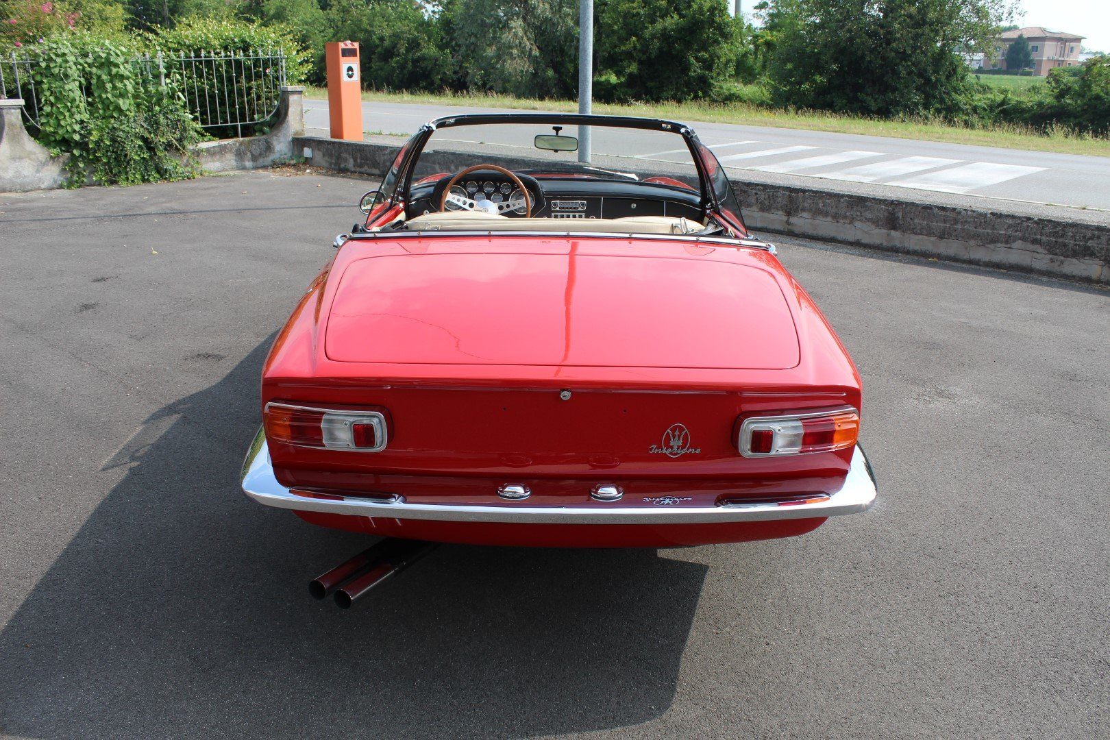 1965 Maserati Mistral 3.7 Spyder For Sale (picture 3 of 6)