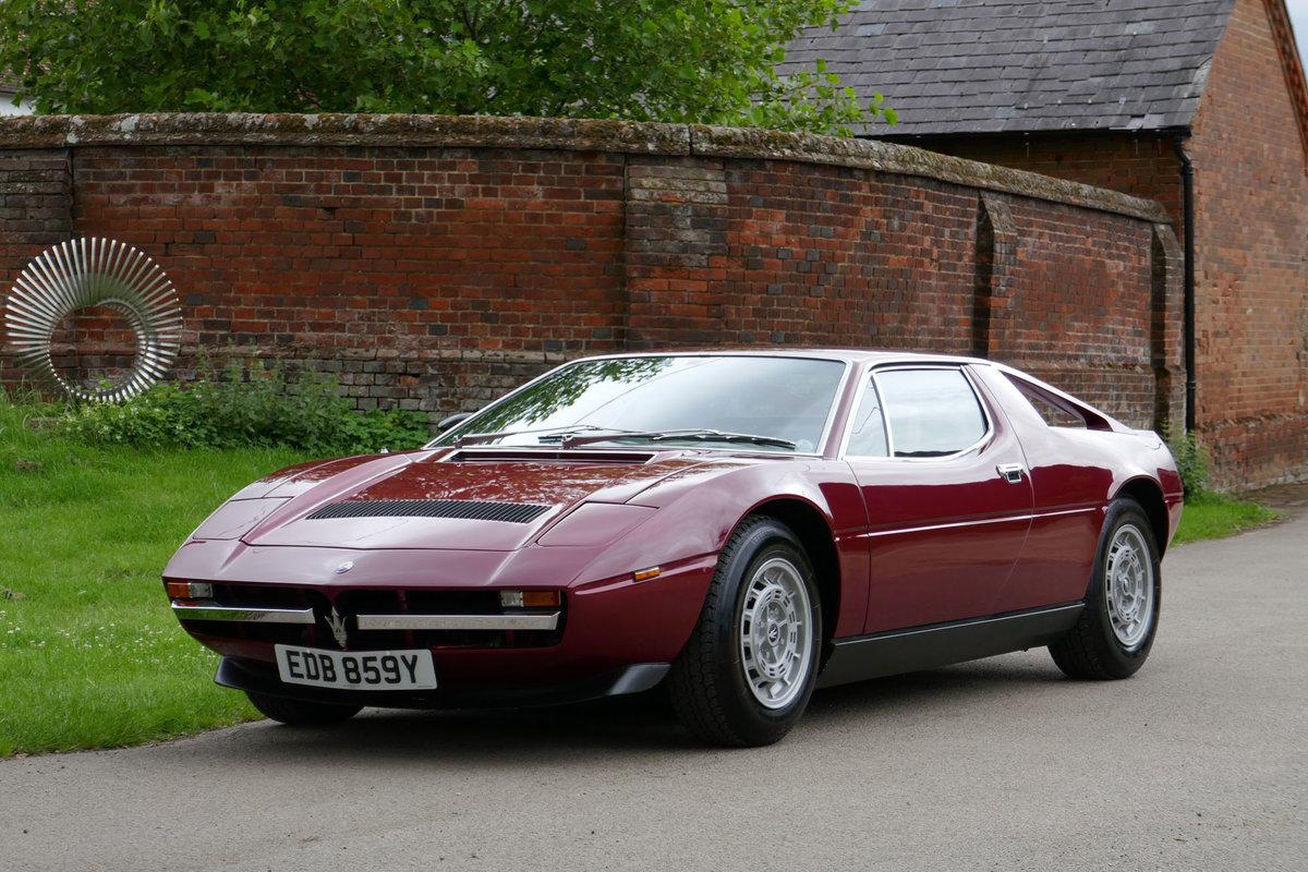 1981 Maserati Merak SS (RHD) SOLD   Car And Classic