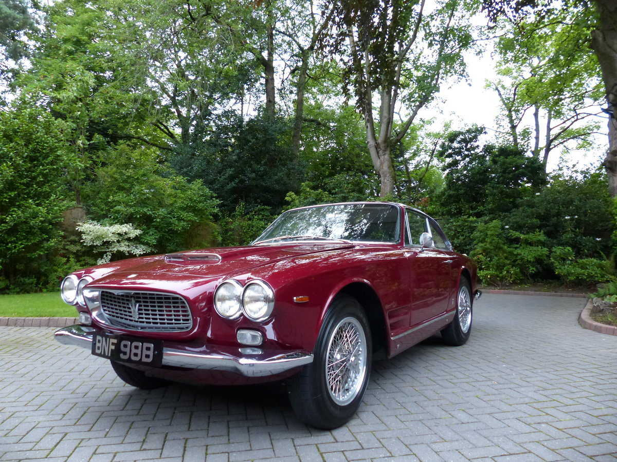 1964 Maserati 3500 Sebring Series1 RHD For Sale (picture 3 of 6)