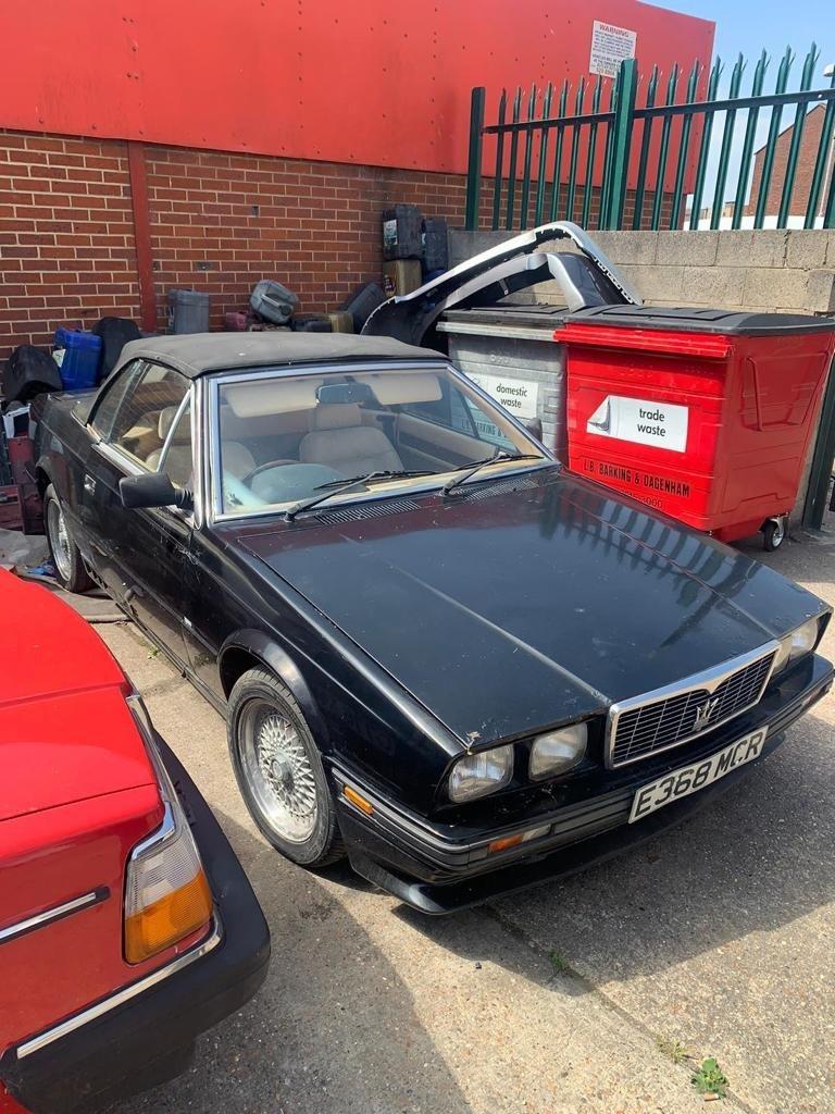 1988 Maserati Biturbo Convertable For Sale | Car And Classic
