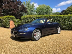 2002 Maserati 4200 GT Spyder Cambiocorsa For Sale by Auction