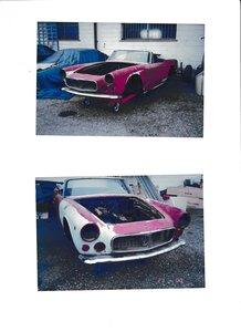 Maserati 3500gtspider Vignale to restore 1961