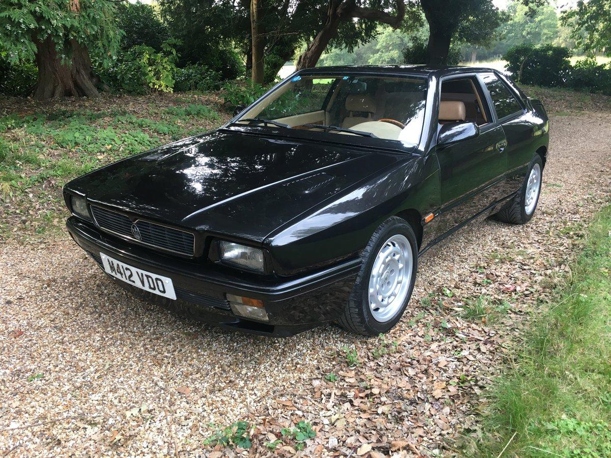 1994 Maserati Ghibli Wide body 2.8 V6 Twin Turbo LHD For ...
