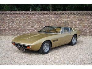 Picture of 1971 Maserati Ghibli SS 4.9 Original color scheme, Maserati certi For Sale