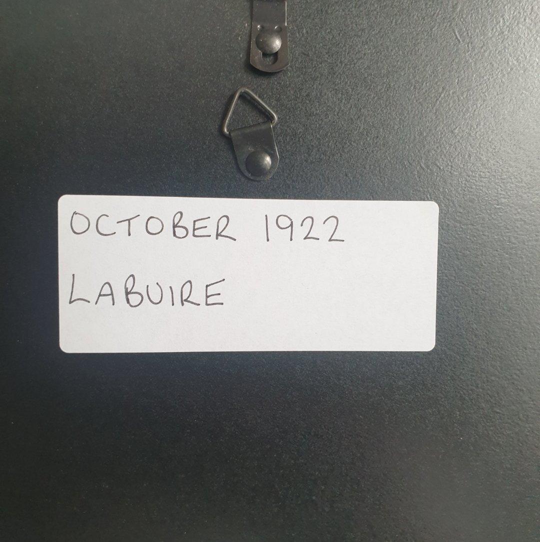 1981 Original 1922 LaBuire Framed Advert  For Sale (picture 2 of 3)