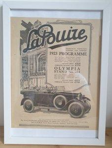 Picture of 1981 Original 1922 LaBuire Framed Advert