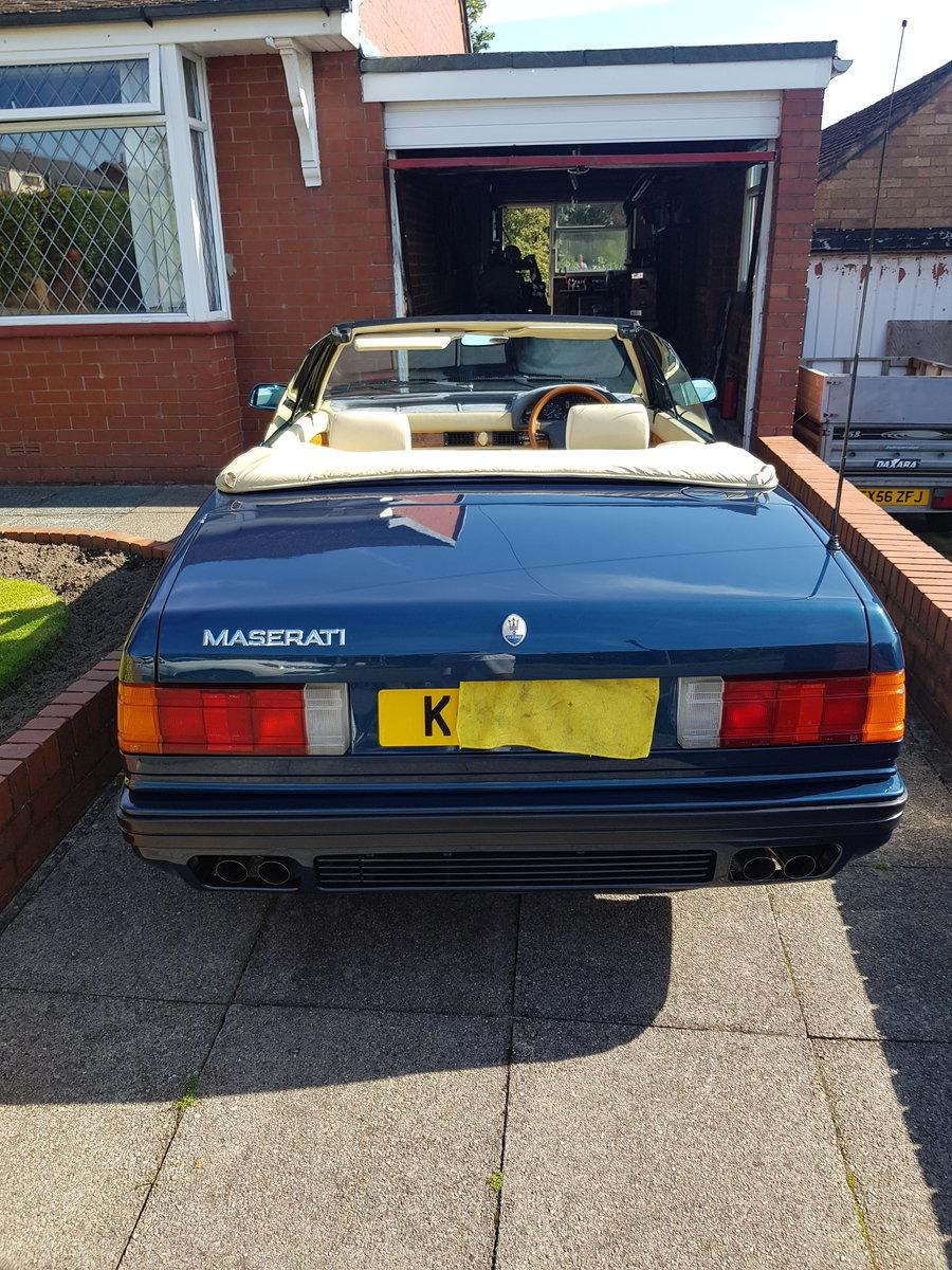 1993 Maserati Zagato Spyder E 2.8 twin turbo For Sale ...