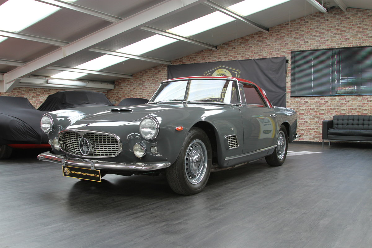 1960 Maserati 3500 GT by Touring SOLD (picture 1 of 6)
