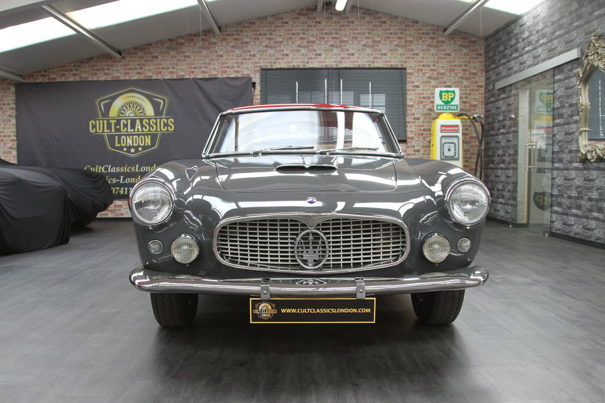 1960 Maserati 3500 GT by Touring SOLD (picture 2 of 6)