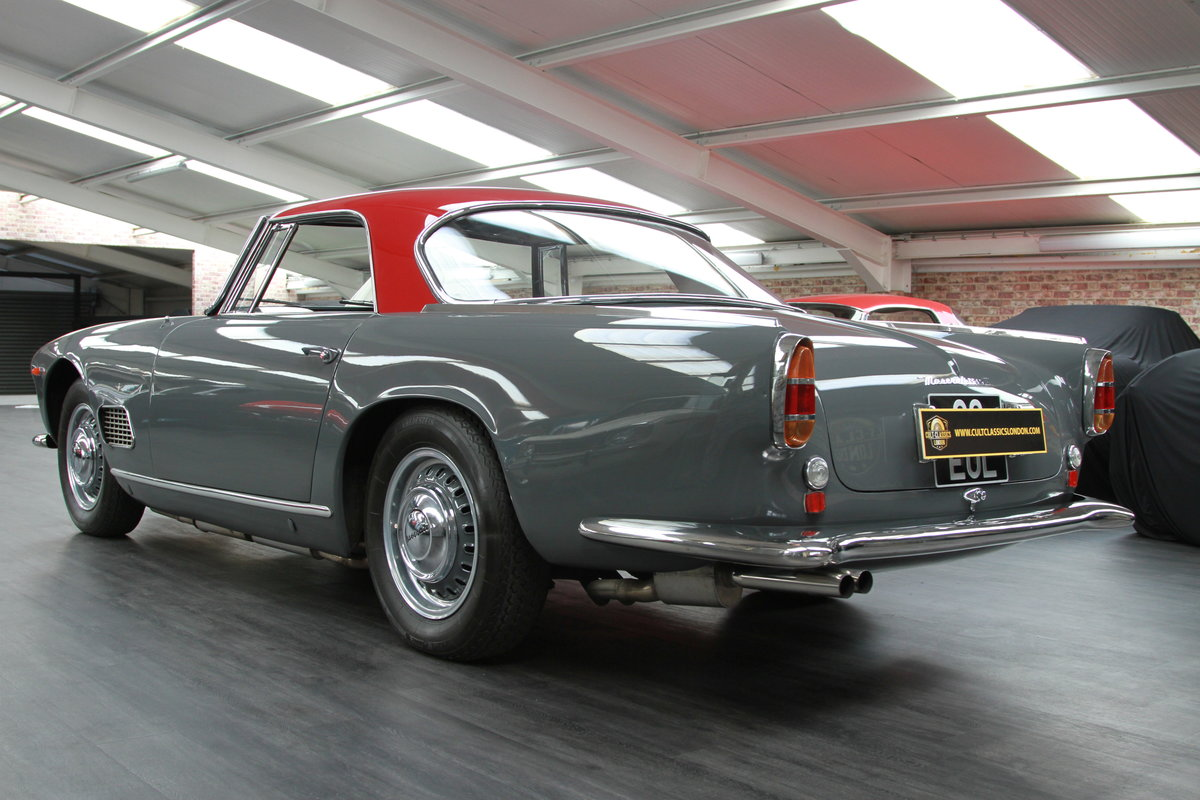 1960 Maserati 3500 GT by Touring SOLD (picture 4 of 6)