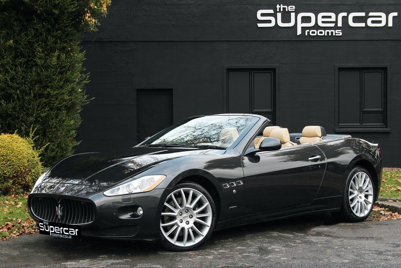 2010 Maserati GranCabrio - 20K Miles - BOSE - Skyhook For Sale (picture 1 of 6)
