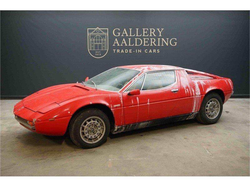 1974 Maserati Merak 3000GT European delivered car For Sale ...