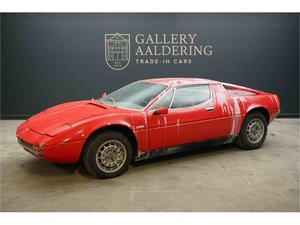 Maserati Merak 3000GT European delivered car