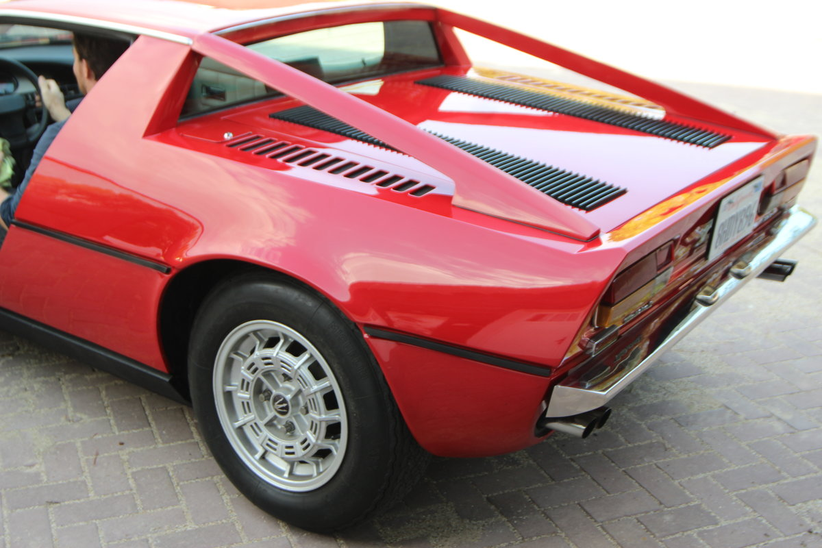 1974 Maseratie Merak in good driving condition For Sale (picture 4 of 12)