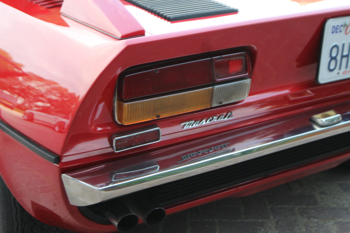 1974 Maseratie Merak in good driving condition For Sale (picture 9 of 12)