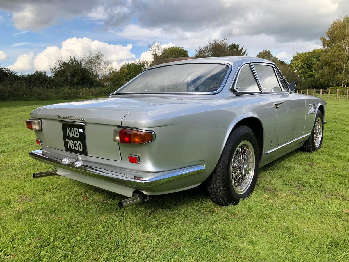 1966 Maserati Sebring 2, Stunning, LHD Argento Silver. For Sale (picture 2 of 12)
