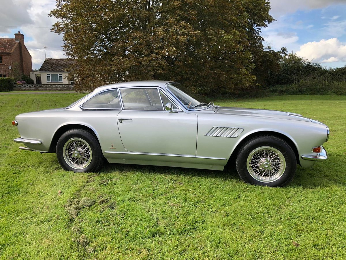 1966 Maserati Sebring 2, Stunning, LHD Argento Silver. For Sale (picture 3 of 12)