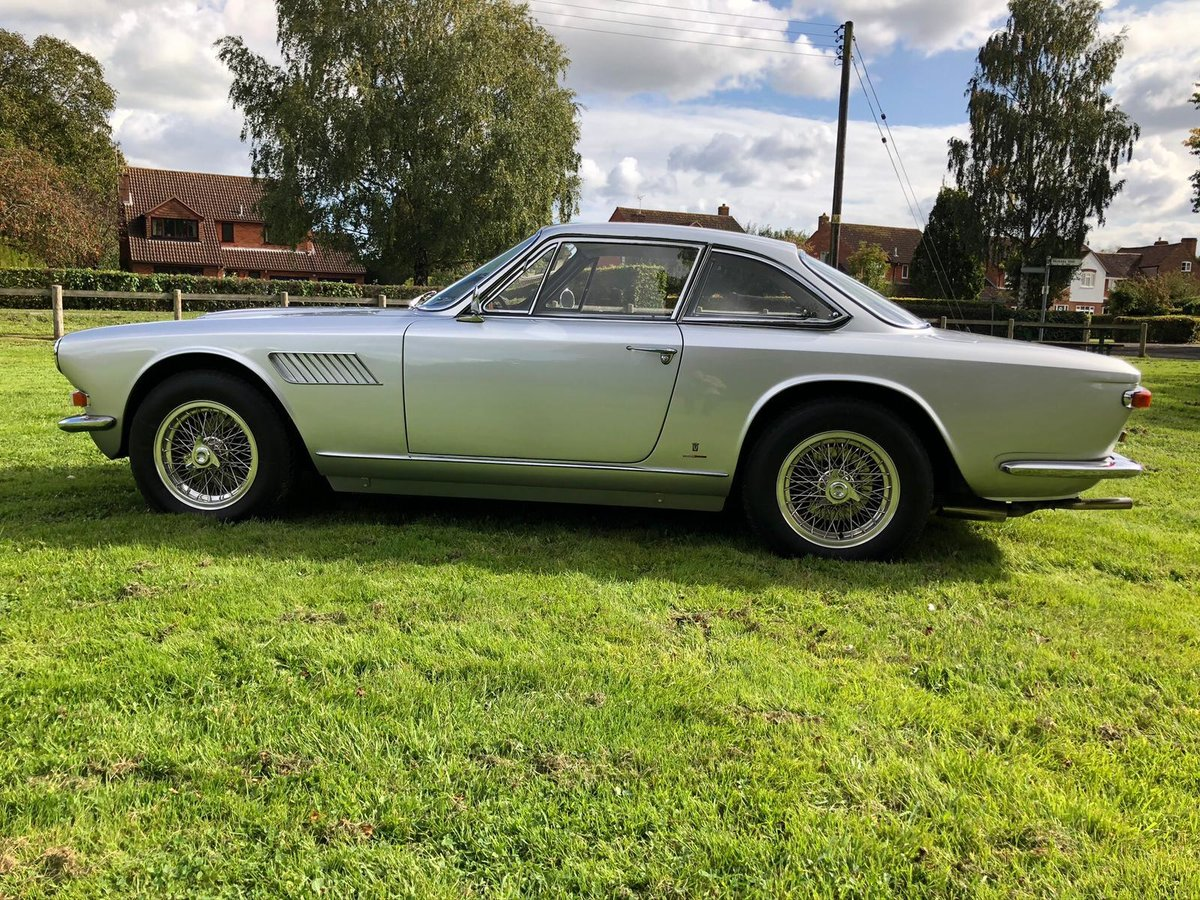 1966 Maserati Sebring 2, Stunning, LHD Argento Silver. For Sale (picture 4 of 12)