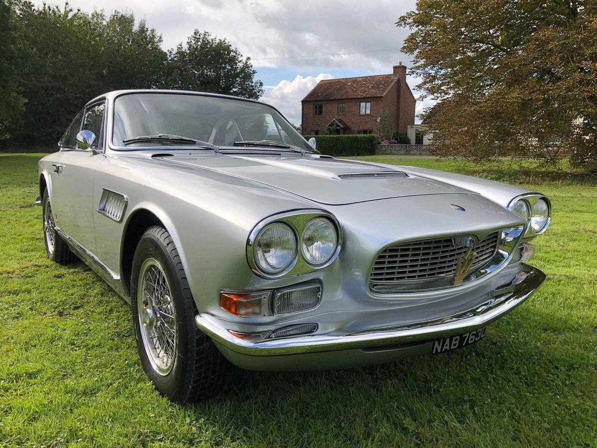 1966 Maserati Sebring 2, Stunning, LHD Argento Silver. For Sale (picture 6 of 12)