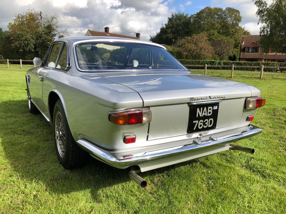 1966 Maserati Sebring 2, Stunning, LHD Argento Silver. For Sale (picture 7 of 12)