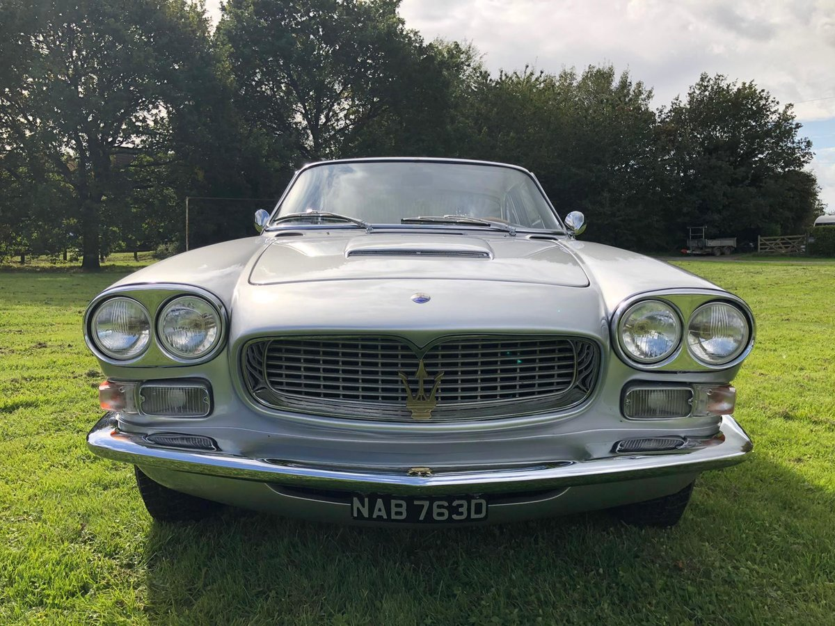 1966 Maserati Sebring 2, Stunning, LHD Argento Silver. For Sale (picture 8 of 12)