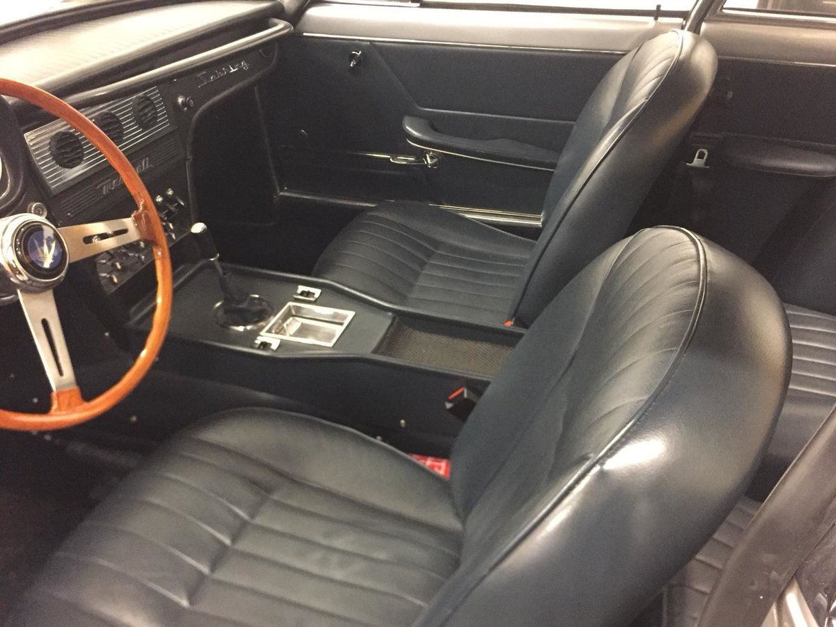 1966 Maserati Sebring 2, Stunning, LHD Argento Silver. For Sale (picture 9 of 12)