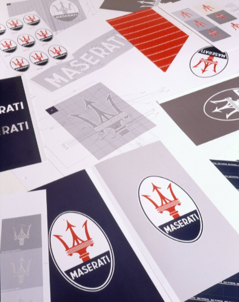 Maserati International Coordinated Image Manual For Sale (picture 2 of 12)