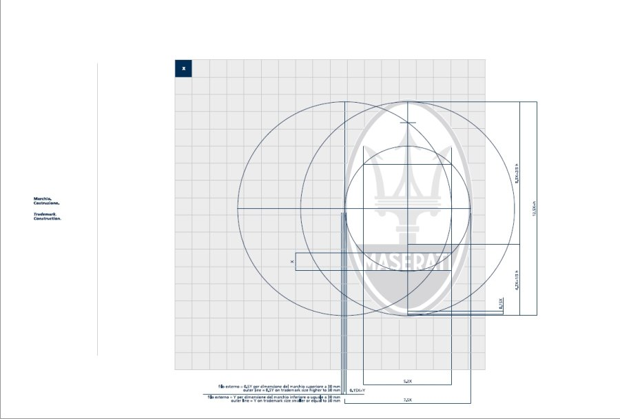 Maserati International Coordinated Image Manual For Sale (picture 4 of 12)