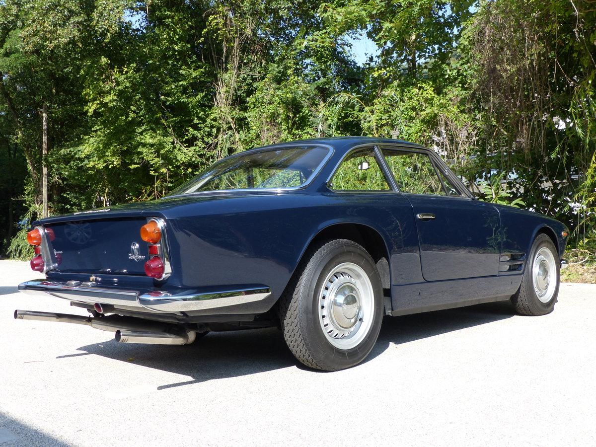 1963 Fantastic Maserati Sebring Mk1, dark-blue, red leather For Sale (picture 4 of 12)