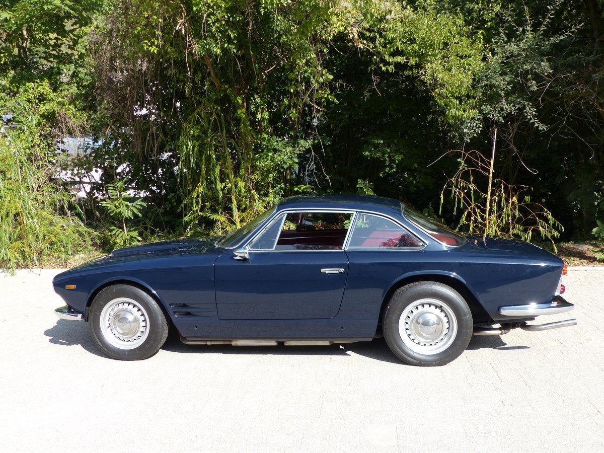 1963 Fantastic Maserati Sebring Mk1, dark-blue, red leather For Sale (picture 6 of 12)