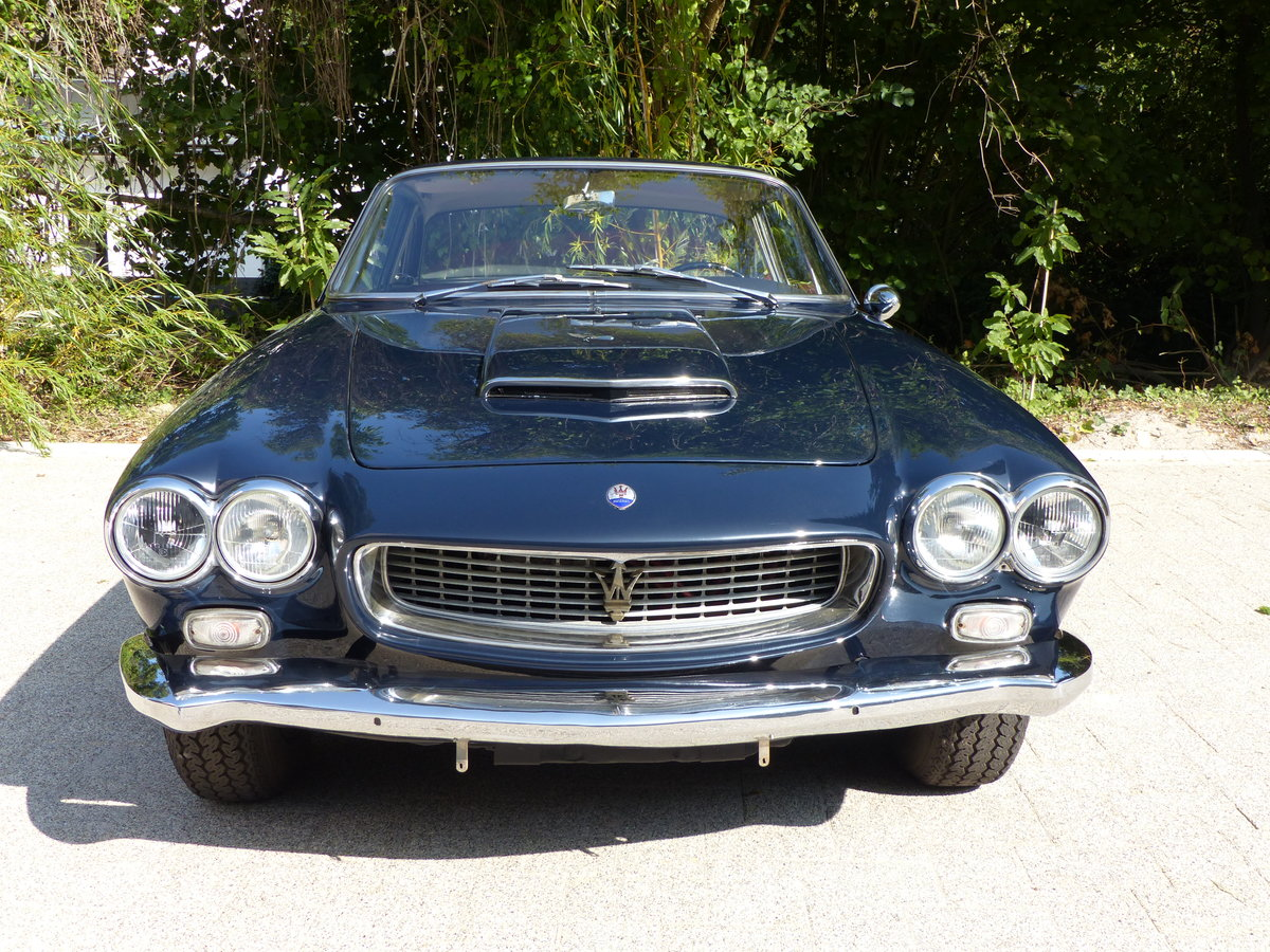 1963 Fantastic Maserati Sebring Mk1, dark-blue, red leather For Sale (picture 7 of 12)