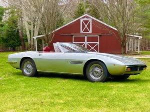 Picture of # 23630 1970 Maserati Ghibli Spyder Silver For Sale