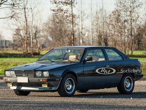 Picture of 1987 Maserati Biturbo Si Black  For Sale by Auction