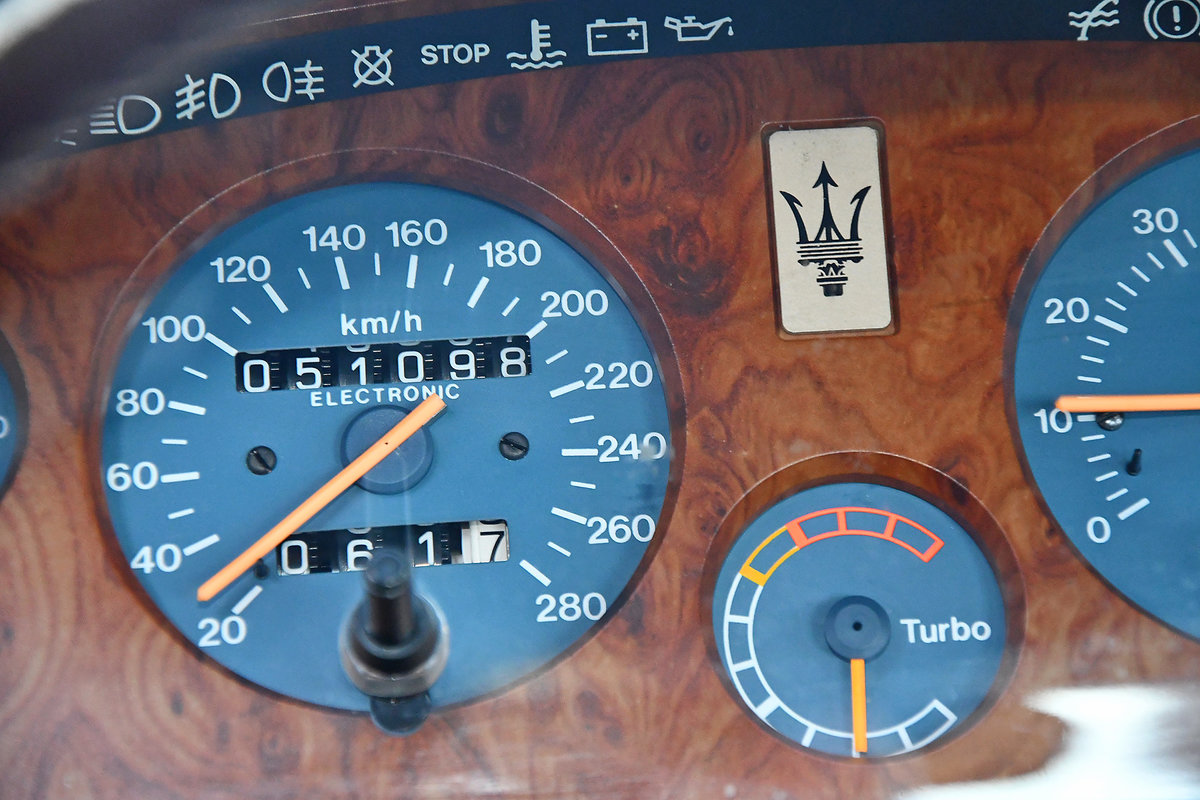 1989 Maserati 228i with only 51'000km from new For Sale ...