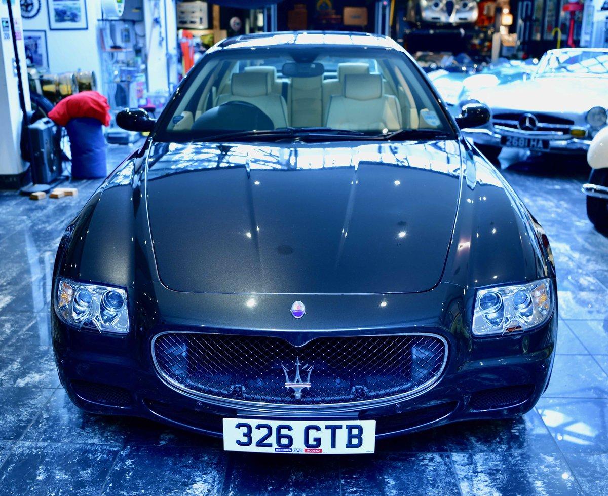 2008 Maserati Quattroporte 4.2 ( 395bhp ) Sport GT Auto For Sale (picture 2 of 12)