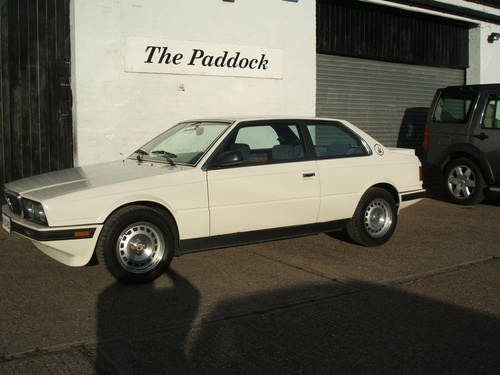 1988 Maserati Biturbo 222 LHD. 2.5 V6. SOLD (picture 1 of 6)