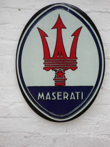 Maserati Sign For Sale (picture 1 of 2)