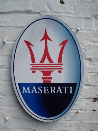 Maserati Sign For Sale (picture 2 of 2)