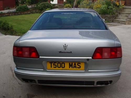 1999 Maserati Quattroporte V8 Evolution Fantastic Car SOLD ...
