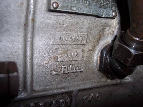1967 Maserati 5-speed gearbox, ZF S5-20, good condition For Sale (picture 4 of 6)