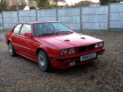 Maserati Biturbo For Sale >> 1987 Very Rare Low Milage Massrati Biturbo S Sold Car And