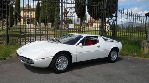 1973 Maserati Merak 3000 Fully Restored For Sale (picture 1 of 6)
