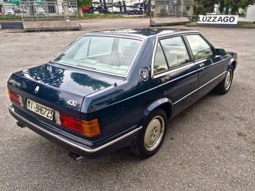 1988 Maserati - 430i ASI CERT. SOLD (picture 3 of 6)