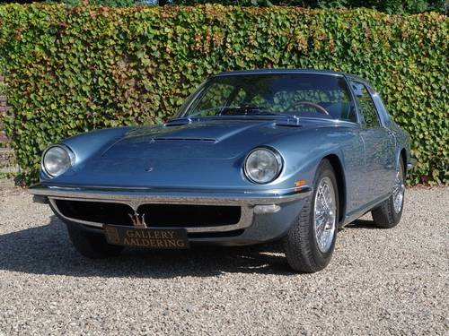 1967 Maserati Mistral 3700 EU version For Sale (picture 5 of 6)