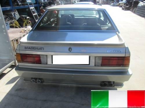 Maserati Biturbo 2000 year 1983  SOLD (picture 1 of 6)