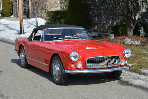 1960 Maserati 3500 Vignale Spyder For Sale (picture 1 of 5)
